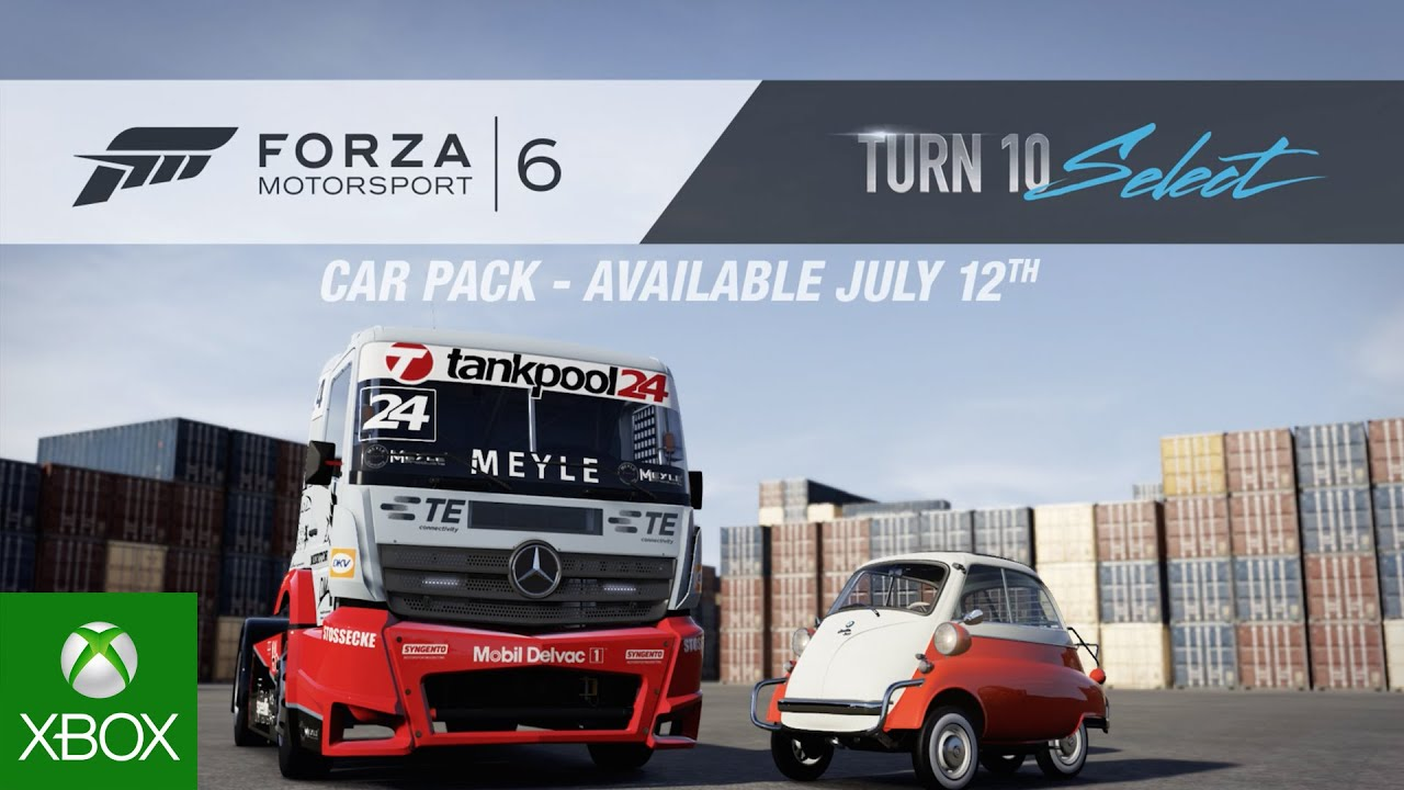 Video for Drive Seven New Forza Favorites with the Turn 10 Select Car Pack