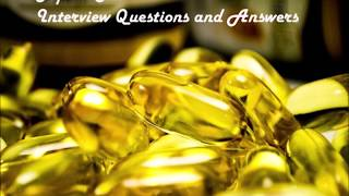 PHARMA TOP 10 INTERVIEW QUESTIONS AND ANSWERS