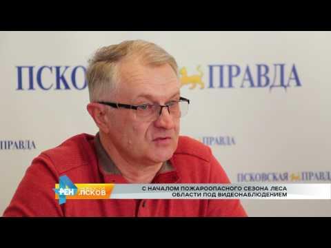 Новости Псков 30.03.2017 # В области начался пожароопасный сезон