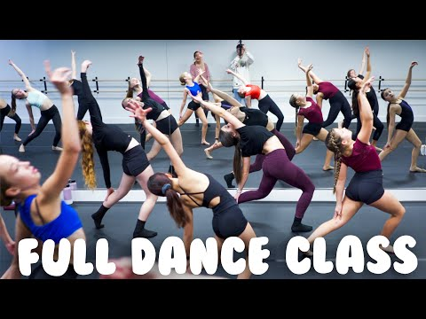 Contemporary Dance Class I Warmup & Choreography