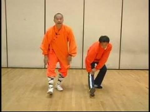 Shaolin Kung Fu Stretches & Moves : Forward Stretches for Shaolin Kung Fu