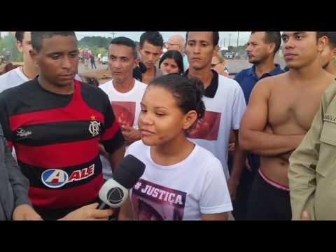 MORADORES BLOQUEIAM BR-364 NO LOCAL ONDE ESTUDANTE MORREU 2