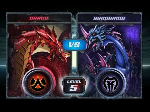 Bakugan Final Brawl: Drago vs Hydranoid