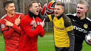 LEWANDOWSKI vs. HAALAND: Fußball Challenges
