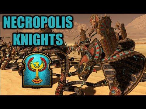 WHAT HAPPENED TO NECROPOLIS KNIGHTS!? - Tomb Kings vs. Dark Elves - Total War Warhammer 2