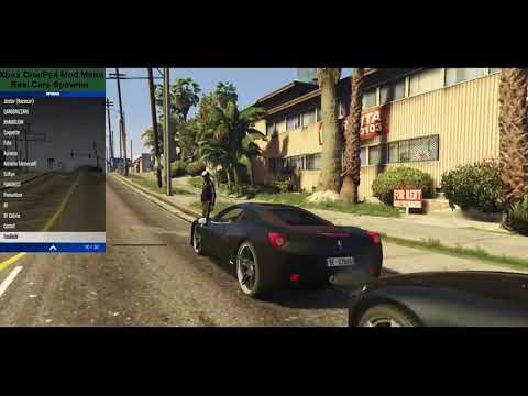 Ps4/XboxOne GTA 5 Real Cars Mod Online/Offline + Download