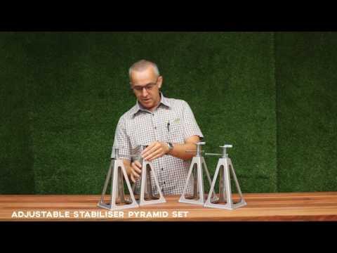 Adjustable Stabiliser Pyramids