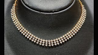 Tanishq Diamond Necklace Collection Part 5