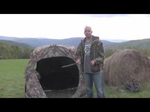 How To Setup Ameristep Doghouse Blind