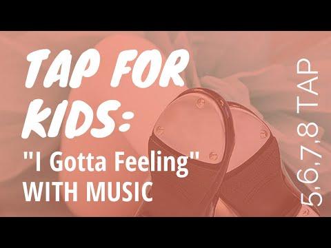 This is a children's beginning tap routine.