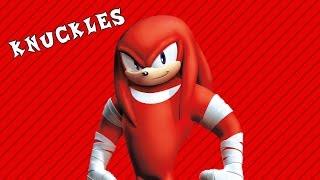 [Sonic Boom Пародия] Knuckles Boom - Наклз перекачался (дубляж от Риськи)