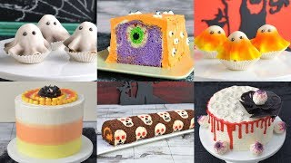 How To Make AMAZING HALLOWEEN CAKES By HANIELAS
