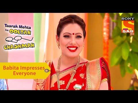 Your Favorite Character | Babita Impresses Everyone | Taarak Mehta Ka Ooltah Chashmah