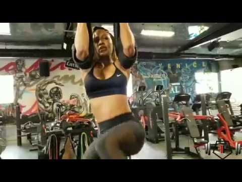 Meagan Good working out (Nov. 15)