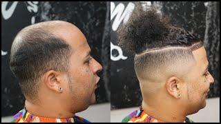 Man Bun Hair Unit By Mickeydabarber