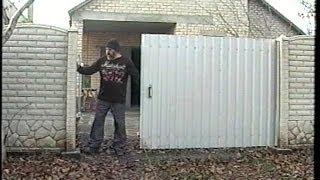 Ворота - штора