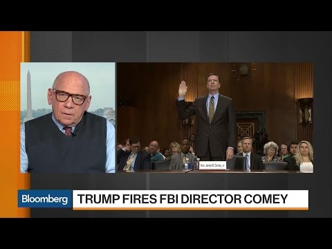 Politics and History in Trump's Firing of Comey