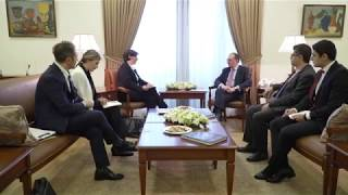 Acting Foreign Minister received the representative of the ICRC delegation to Armenia