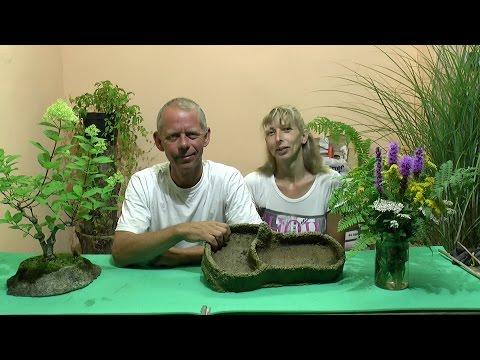 Bonsai Schale selber herstellen aus Beton Estrich. Bonsai pot itself produce concrete screed