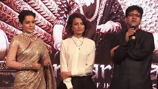 Kangana Ranaut FIGHTS With A Reporter At Manikarnika Music Launch