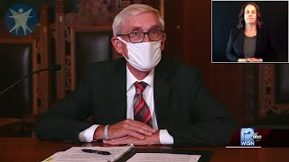 Video: Gov. Evers gives coronavirus update