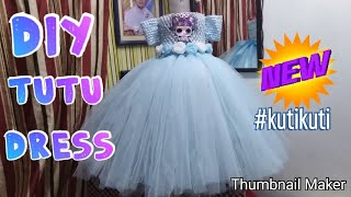 How To Make Tutu Dress For Any Occasion Birthday, Flower Girl Diy