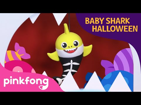 Knock Knock Baby Shark's Trick or Treat | Halloween Songs | Baby Shark | Pinkfong Songs for Children