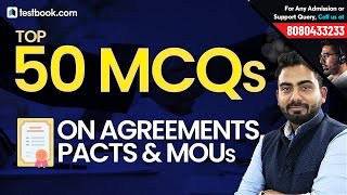 Top 50 Questions on Agreements, Pacts & MOUs   General Awareness for Government Exams   Abhijeet Sir