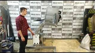 видео товара Подъемник опрокидыватель тележек гидравлический