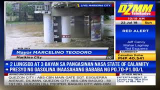 Marikina River lagpas 17-metro na; 3,000 lumikas