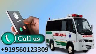 Pick Road Ambulance Service in Karol Bagh and Saket with Medivic Ambulance