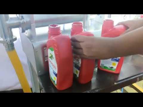 Pneumatic Base 1Head Liquid Filling Machine