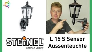 """""""STEINEL L 15 S"""" Sensor Außenleuchte [watt24-Video Nr. 83]"""