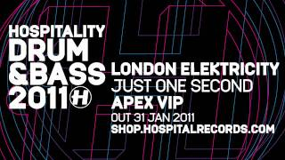 London Elektricity Just One Second Apex VIP