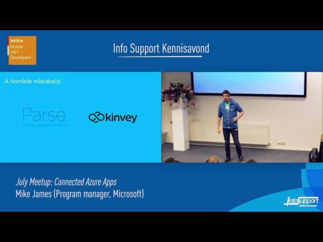 Connected Azure Apps (Mike James, Program manager Micro…