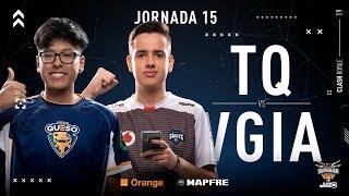 Team Queso VS Vodafone Giants | Jornada 15 | Temporada 2018-2019