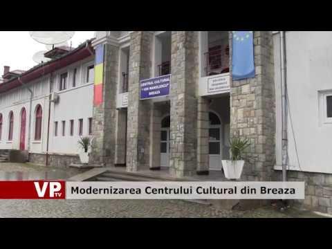 Modernizarea Centrului Cultural din Breaza