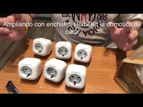 Ampliando con enchufes HomeKit la domótica de casa