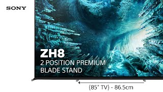 YouTube Video GXFbnRJ7Qkc for Product Sony ZH8 8K Full Array LED TV by Company Sony Electronics in Industry Televisions
