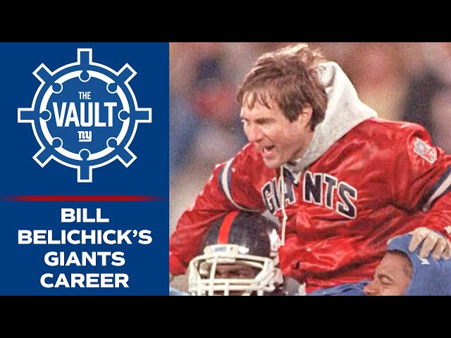 Bill Belichick Explains How He Got His Start in Coaching & Created the Vaunted '80s Giants Defense