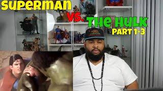 Download Video Superman Vs. The Hulk (Part 1,2,&3) Reaction MP3 3GP MP4