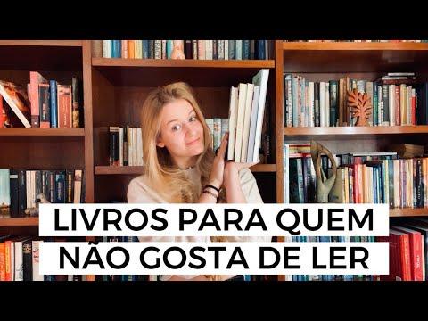 5 LIVROS PARA QUEM NÃO GOSTA DE LER | Laura Brand
