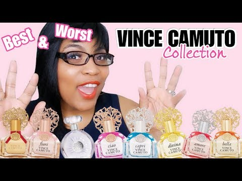 VINCE CAMUTO Perfume Fragrance Collection Review- Best and Worst!