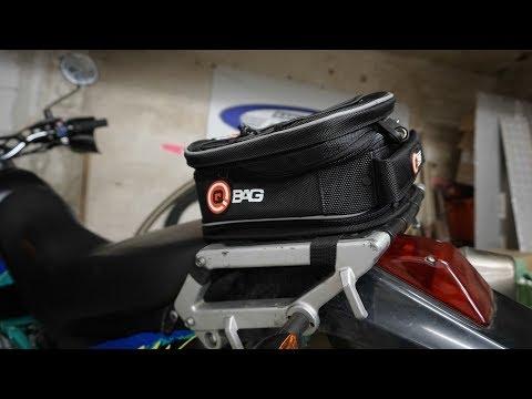 Kurztest: Neue Qbag Hecktasche 02 Motorradgepäck Tasche für die Kawasaki KLX 650 C