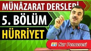 Mustafa KARAMAN - Münâzarat Dersleri Beşinci  Bölüm