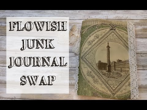 Flowish Junk Journal Swap