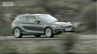 1 Series test drive in Portugal