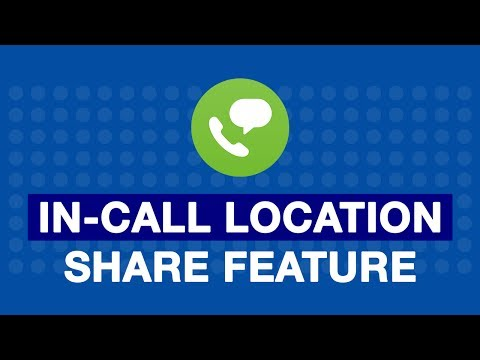 How to use In-Call location share feature of Jio4gVoice App?