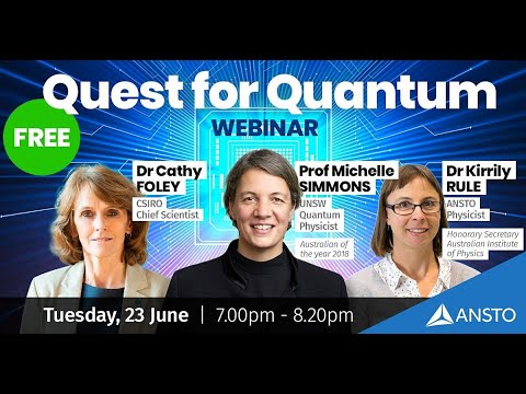 ANSTO Quest for Quantum Webinar – Prof Simmons