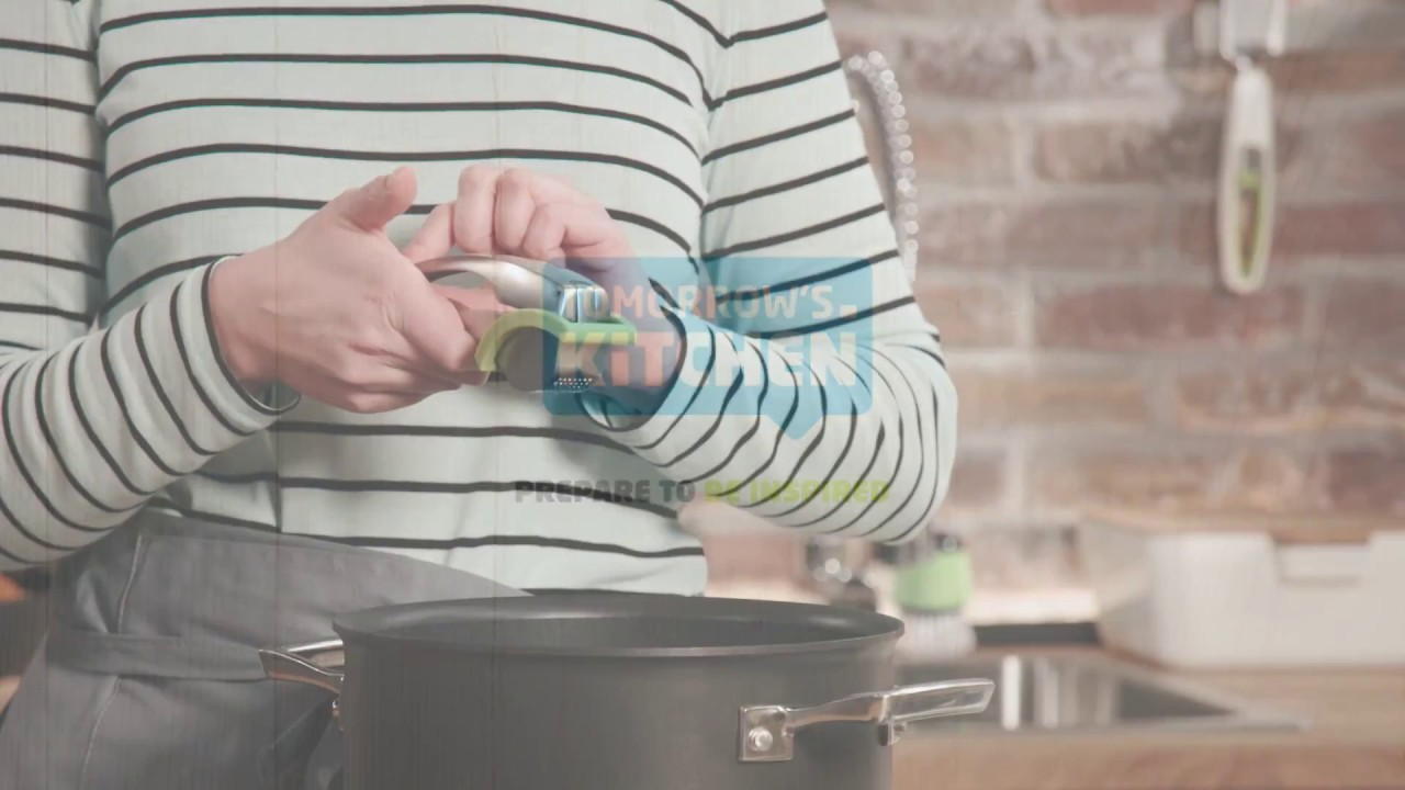 Video - Tomorrow's Kitchen Knoflookpers